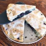 Blueberry Lemon Cake with a Lemon Glaze