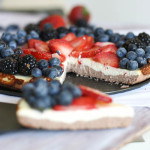 Fluffy Cheesecake with Fresh Berries