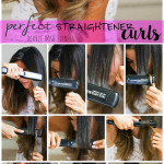 How To: Easy Straightener Curls