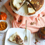 Pumpkin Swirl Cheesecake Cake + Tuesday Tastes  10/13/15 