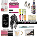 Gift Guide for Her: Under $60