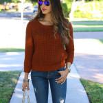 What We're Loving |1/6| + Burnt Orange Sweater