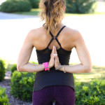 Black Mesh Top- Beyond Yoga + Healthy Tips