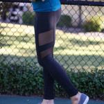 Black Mesh Leggings + Tips for the New Year