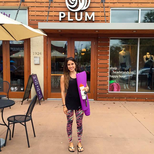 Plum Yoga Dallas- all about our favorite yoga studio in Dallas   adoubledose.com