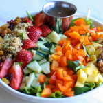 Strawberry Mango Quinoa Crunch Salad