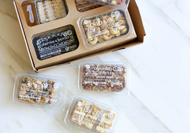 Snacking with Graze - what is Graze and why we love it! | Adoubledose.com