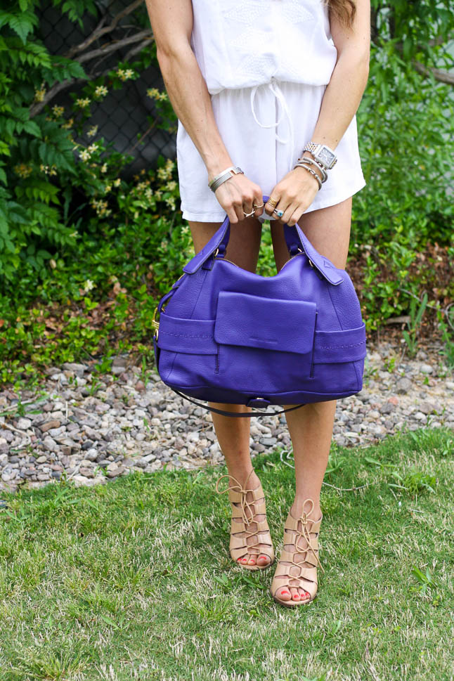 Pop Of Color with Aimee Kestenberg Bags | adoubledose.com