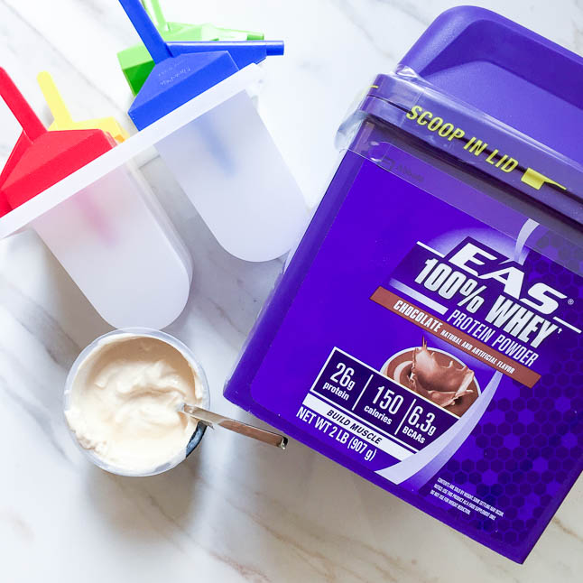 Chocolate Protein Pops with EAS Protein Powder | adoubledose.com