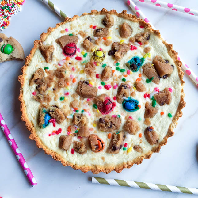 Confetti Cookie Cheesecake with Keebler   adoubledose.com