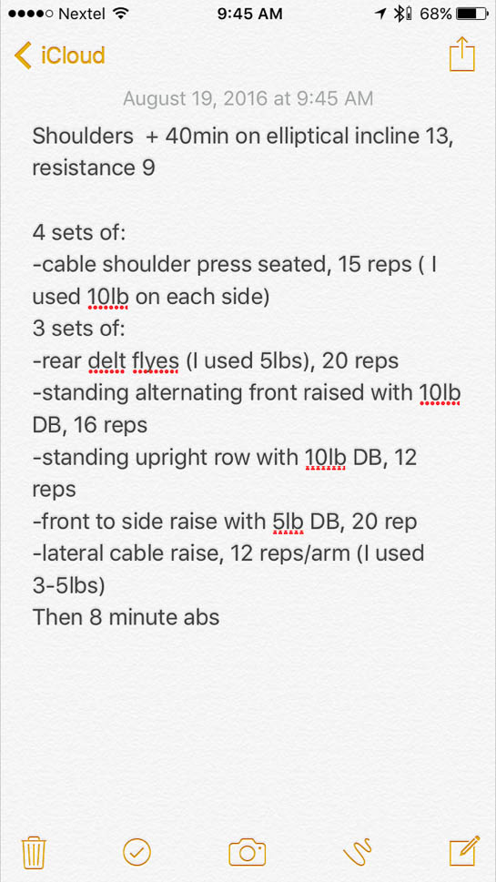 Weekly Workouts - a roundup of our workouts from this week   adoubledose.com