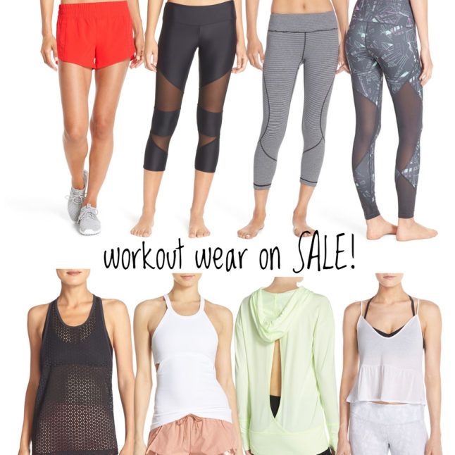 Workout Clothes on sale | adoubeledose.com