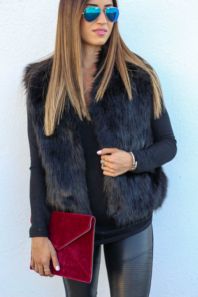 Faux Fur For The Holidays | adoubledose.com