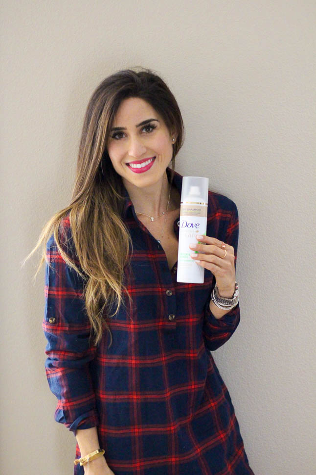 Our Hair Lifesaver with Dove | adoubledose.com