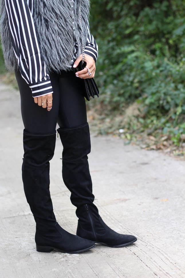 Faux Fur Vest | adoubledose.com