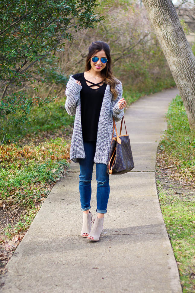 The Grey Cardigan you MUST buy | adoubleodose.com
