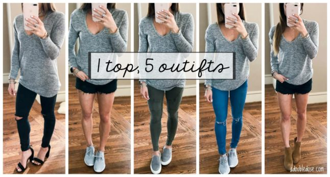 1 Shirt, 5 Styled Outfits   adoubledose.com