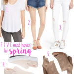 5 Items You Need for Spring