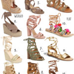Spring Lace Up Shoe Guide