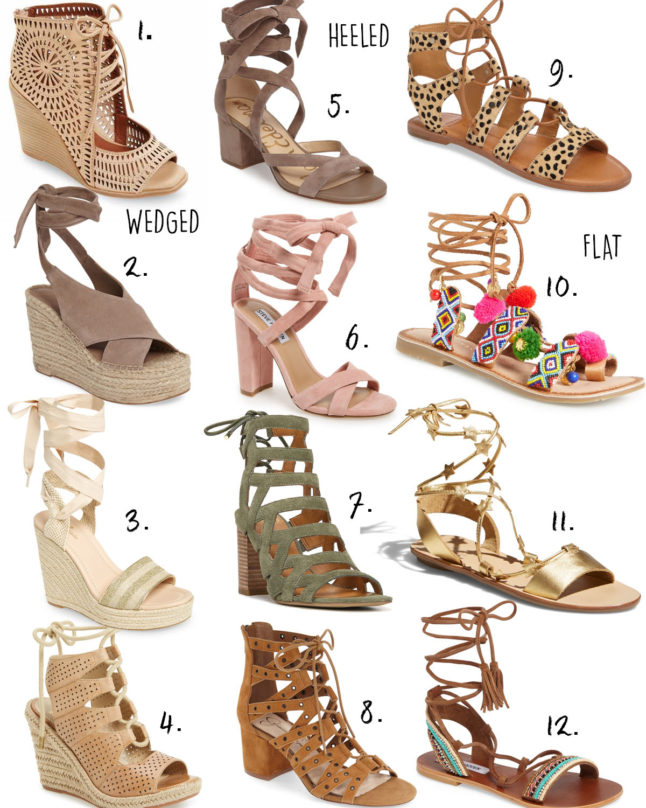 Spring Lace Up Shoes | adoubledose.com