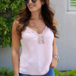 How To Style A Lace Cami