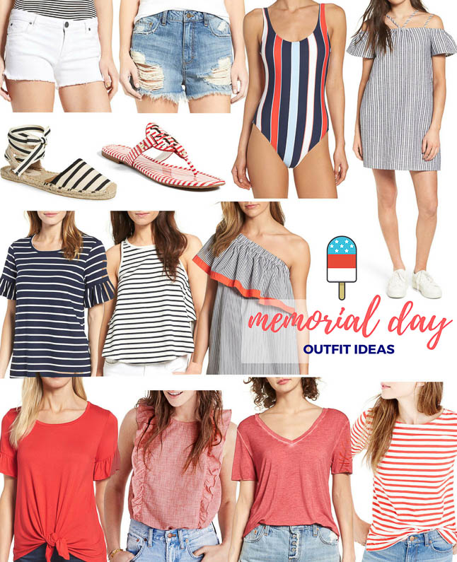 Memorial Day Outfit Ideas | adoubledose.com