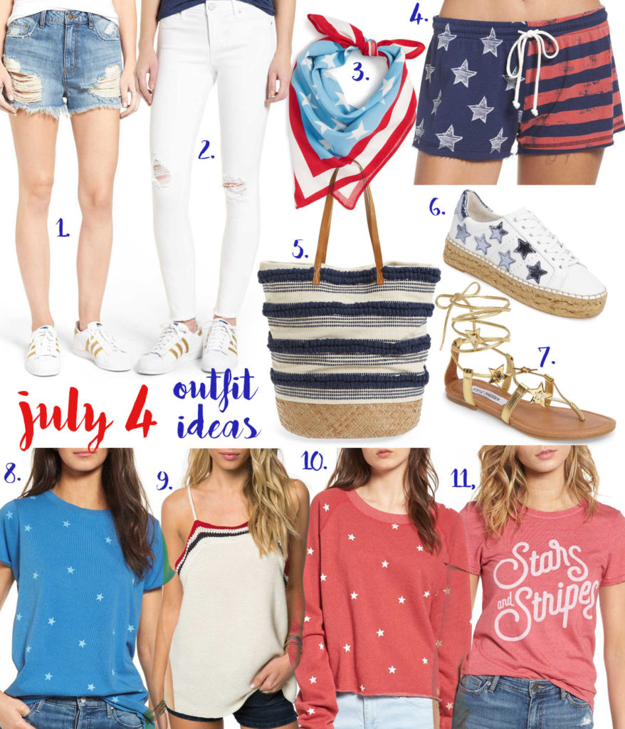 4th Of July Outfit Ideas | adoubledose.com
