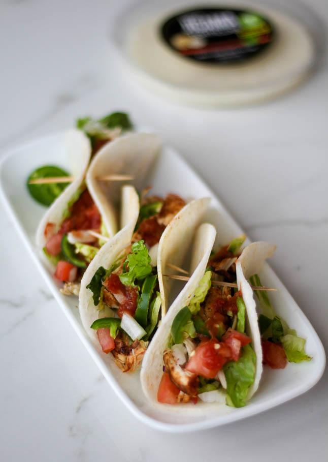Healthy Jicama Tacos | adoubledose.com