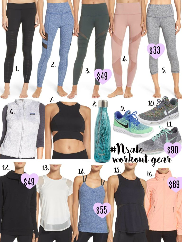NSALE Workout Gear Faves | adoubledose.com