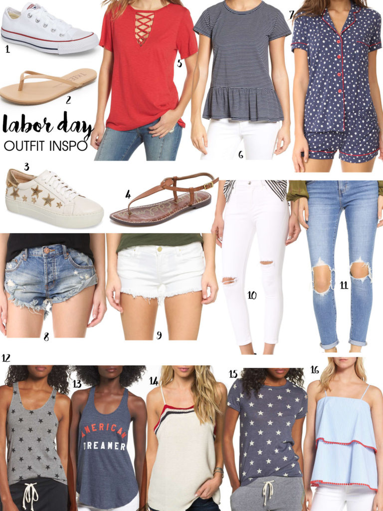 Labor Day Outfit Ideas + SALES | adoubledose.com
