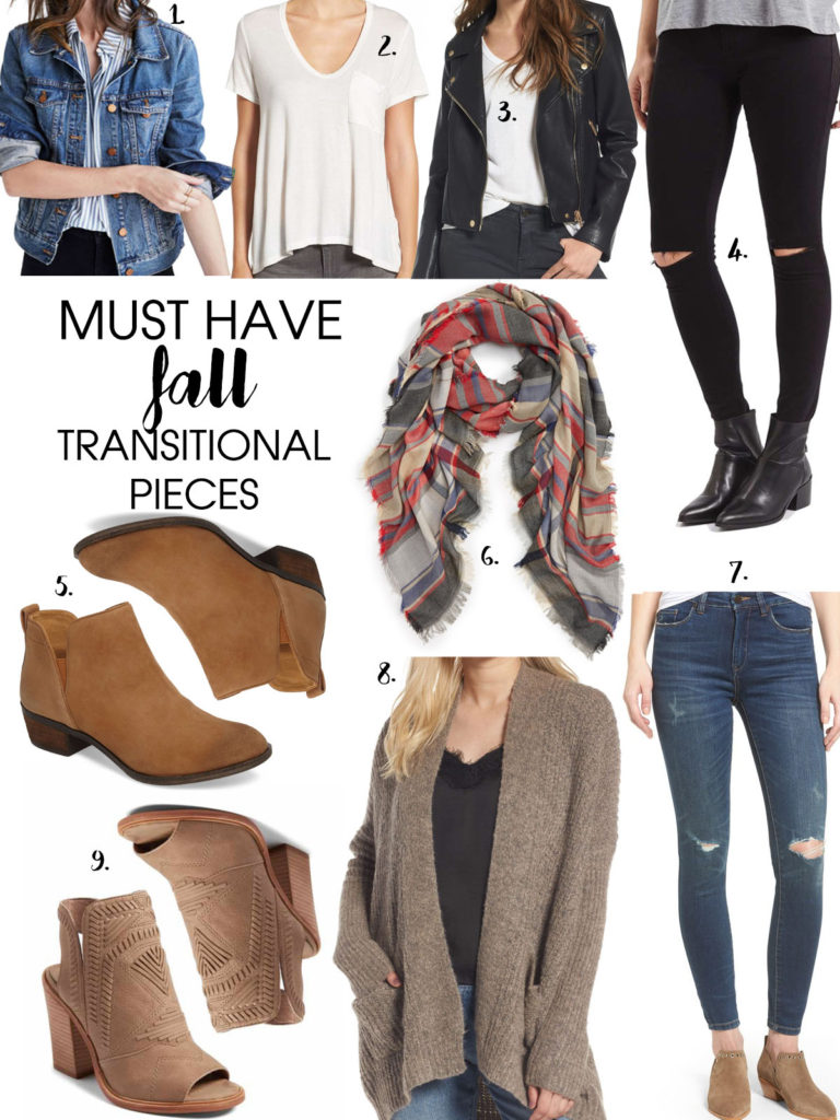 Must Have Fall Transitional Pieces | adoubledose.com