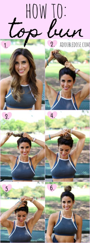 How To : Top Bun | adoubledose.com