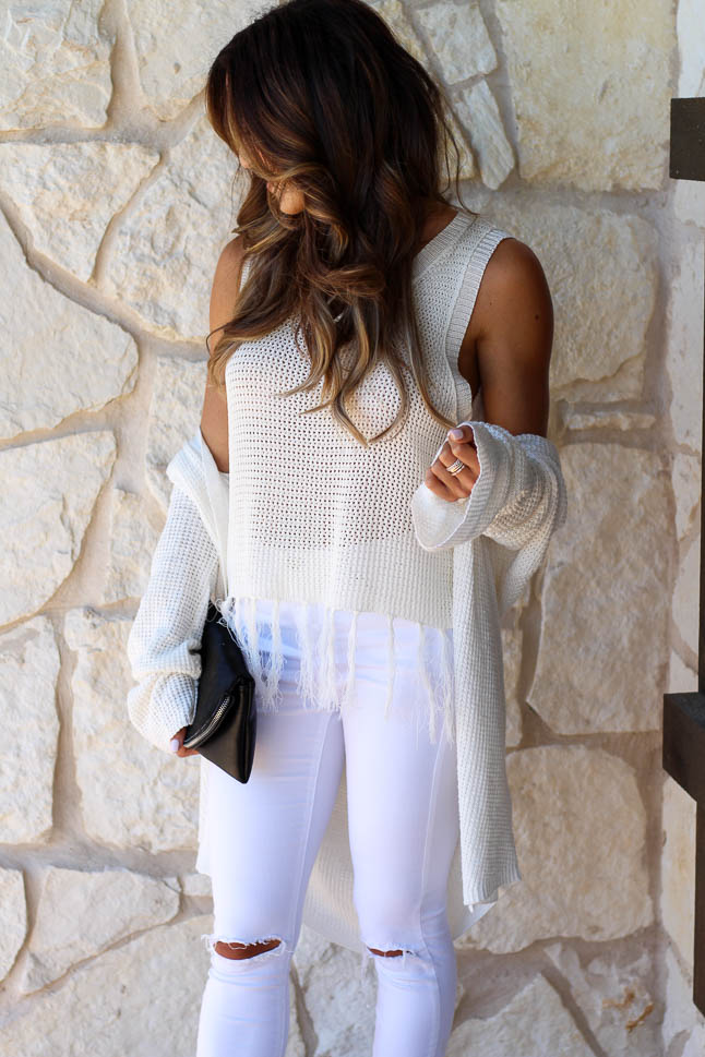 How To Wear White In The Fall | adoubledose.com