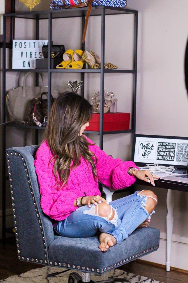 Home Office Reveal | adoubledose.com