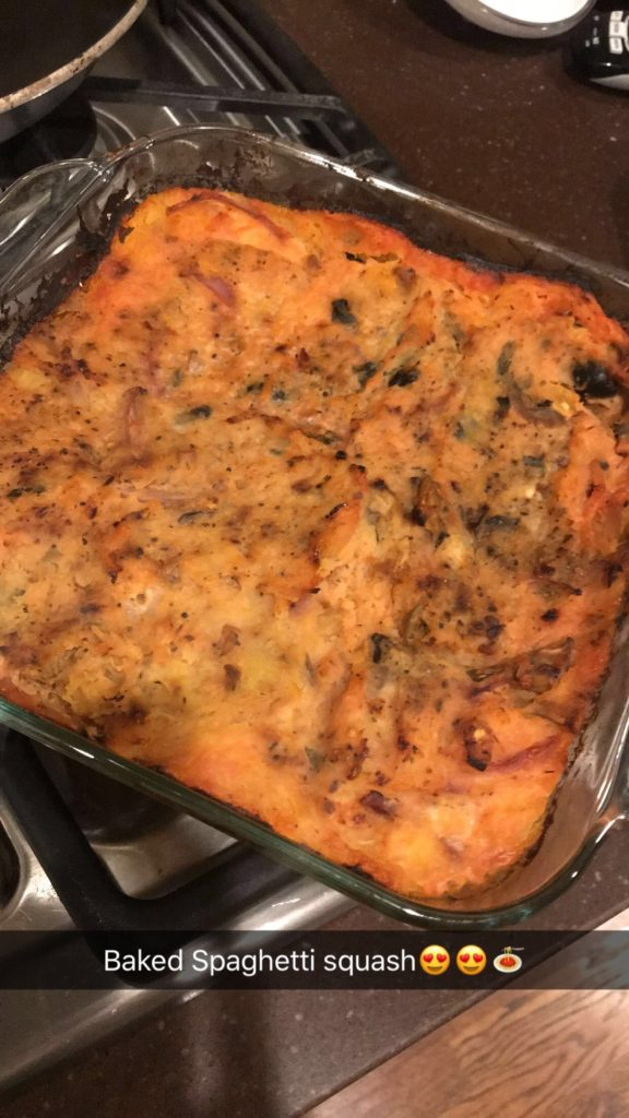 spaghetti squash bake | adoubledose.com