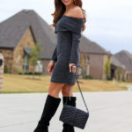 How To Style A Dress With Boots For Petites