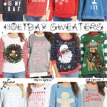 Cute Holiday Sweater Ideas